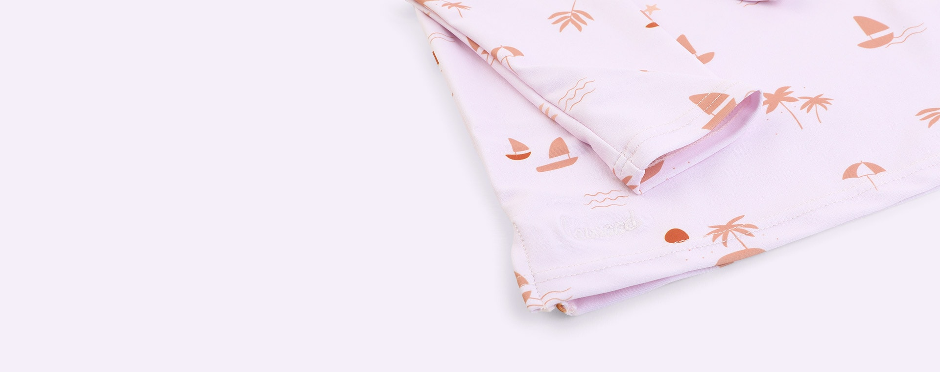 Seaside Light Lavender Liewood Noah Swim Tee