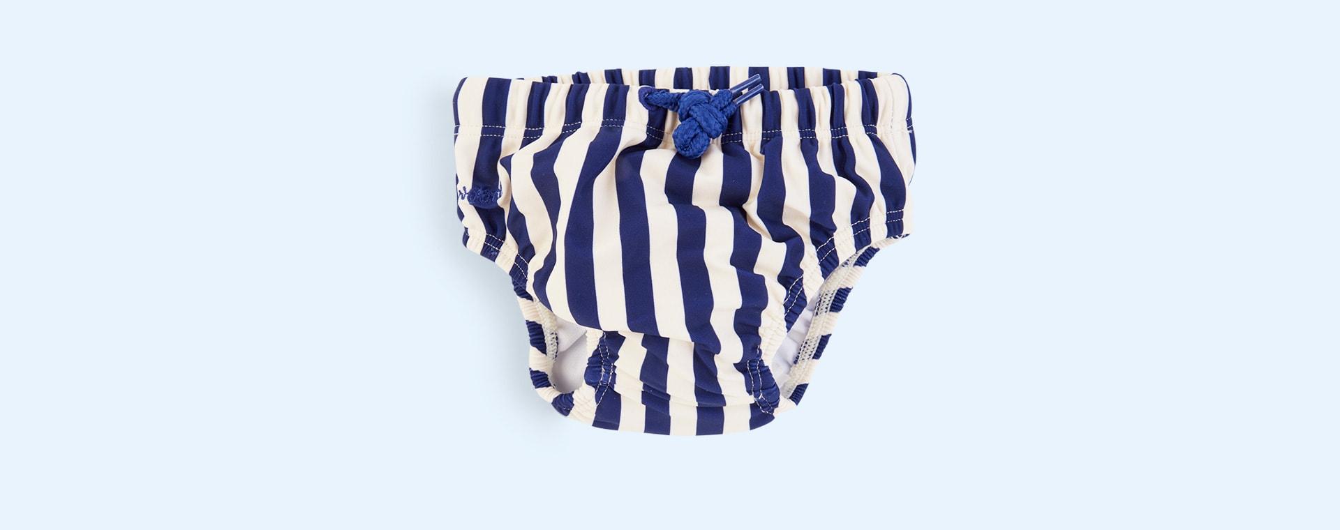 Navy Stripe Liewood Frej Bloomer Swim Pants