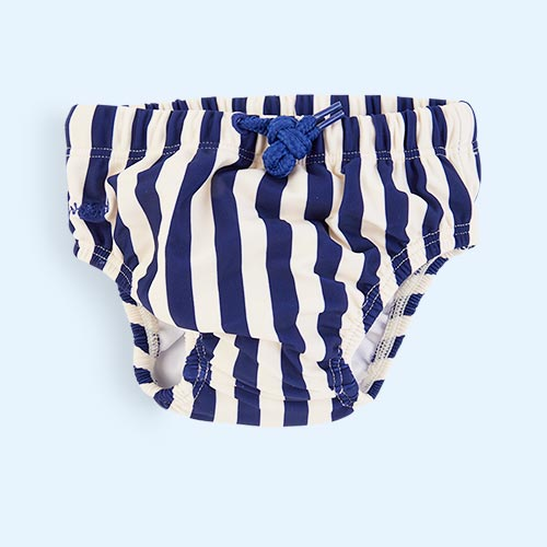 Navy Stripe Liewood Frej Bloomer Swim Pants