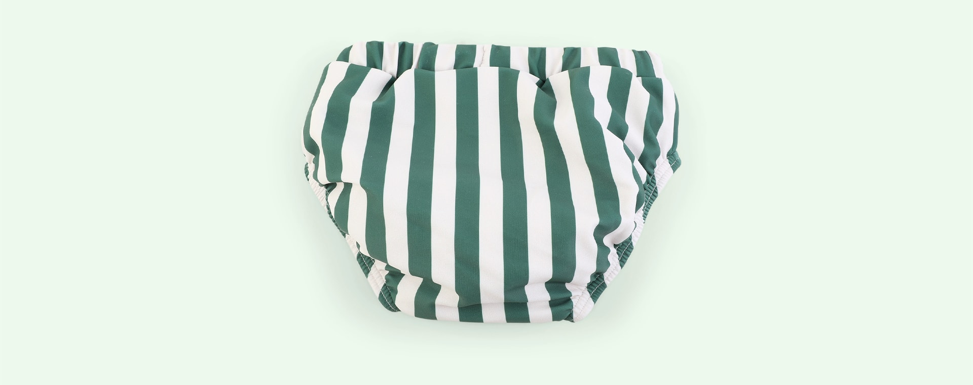 Stripe: Garden green/sandy Liewood Frej Bloomer Swim Pants