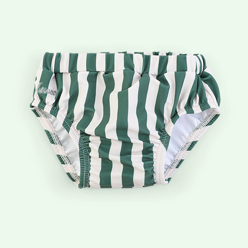 Stripe: Garden green/sandy