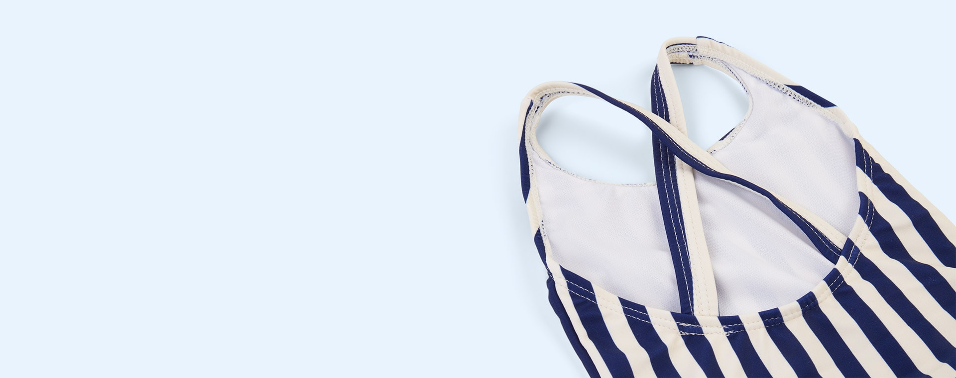 Navy Stripe Liewood Amara Swimsuit