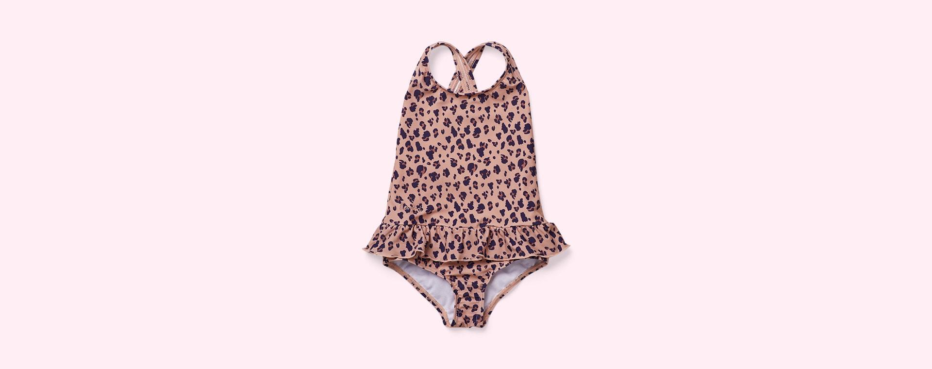Mini Leo Coral Liewood Amara Swimsuit