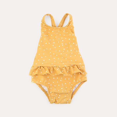 Confetti Yellow Mellow Mix New Liewood Amara Swimsuit
