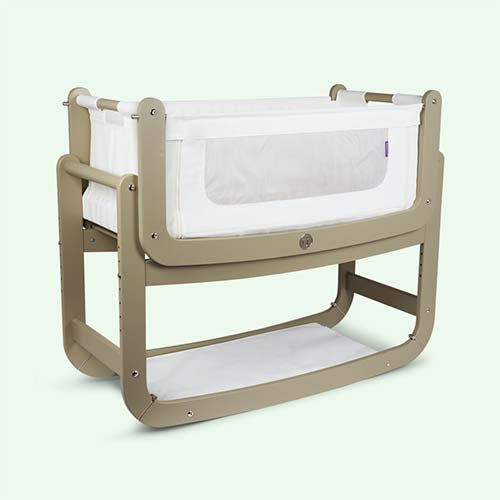 Putty Snuz SnuzPod2 3-in-1 Bedside Crib & Mattress