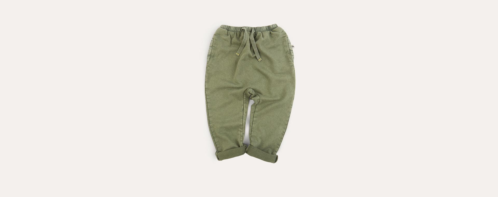 Moss KIDLY Label Washed Jogger
