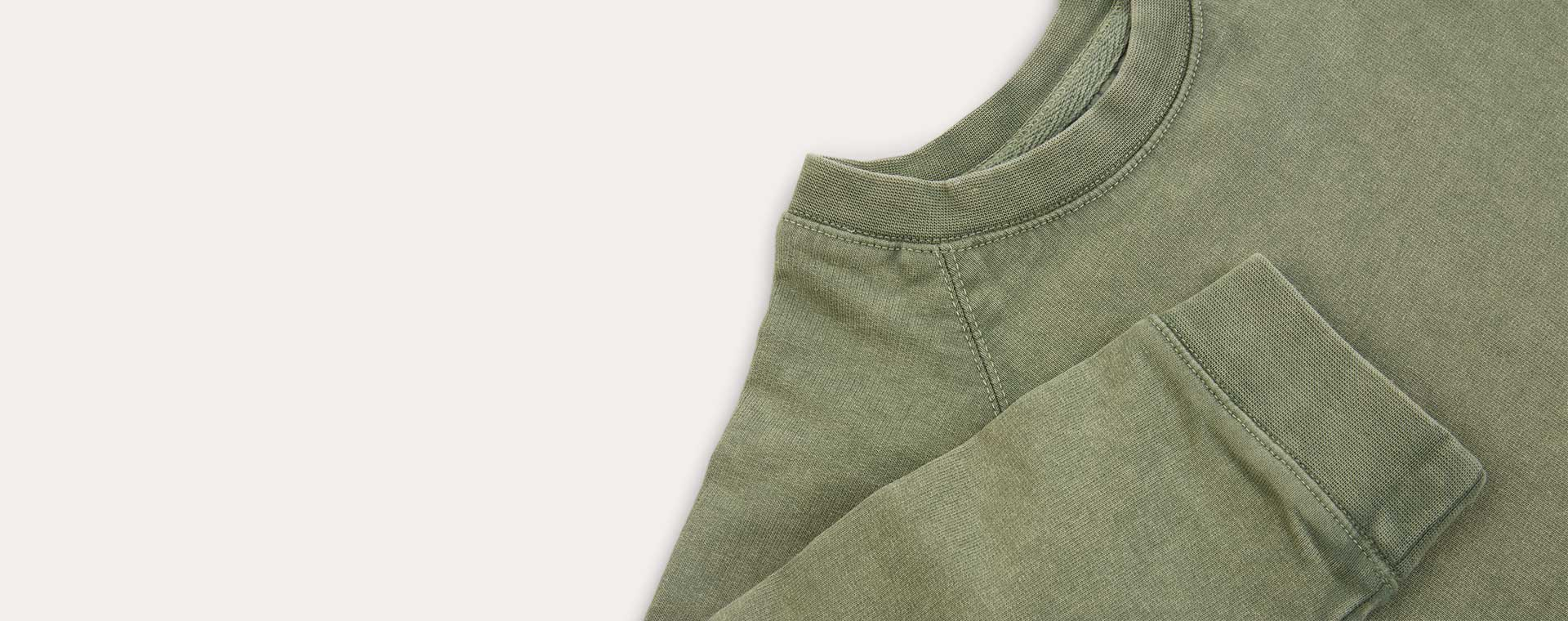 Moss KIDLY Label Washed Sweatshirt
