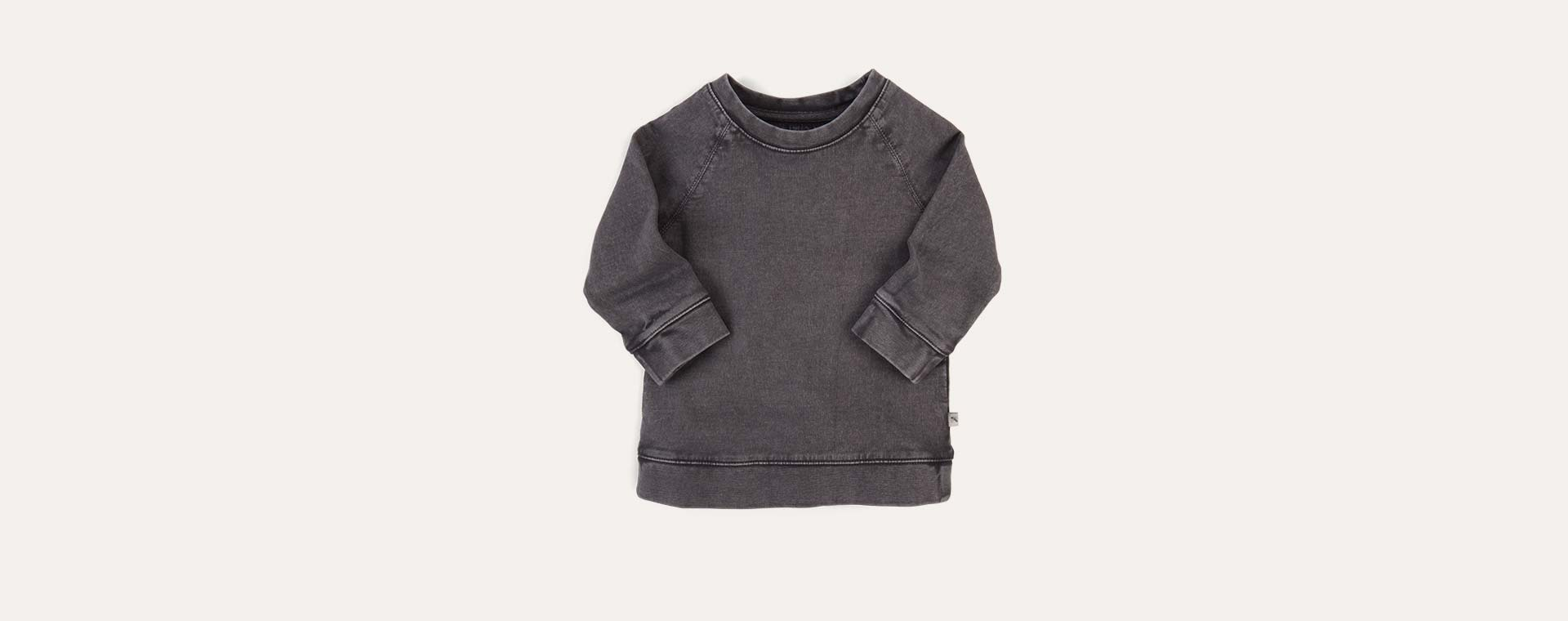 Slate KIDLY Label Washed Sweatshirt