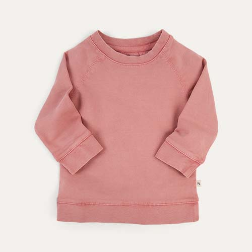Salmon KIDLY Label Washed Sweatshirt