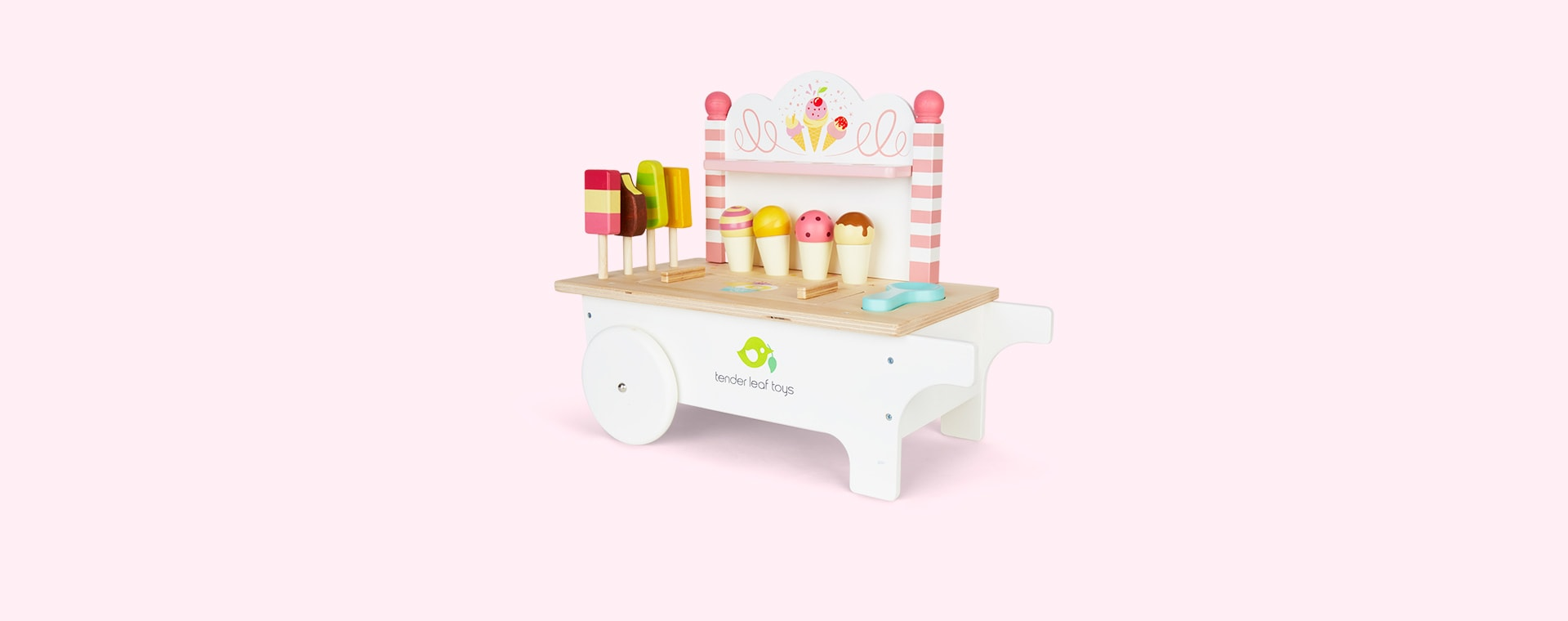 Multi Tender Leaf Toys Ice Cream Cart