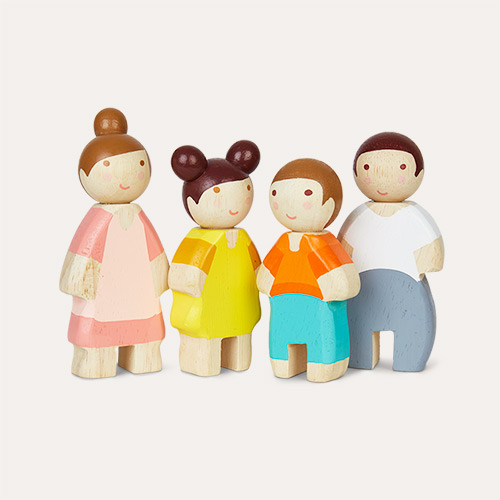 Multi Tender Leaf Toys Doll Family - Solid