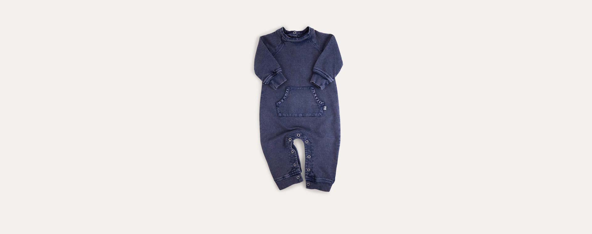 Indigo KIDLY Label Washed All-In-One