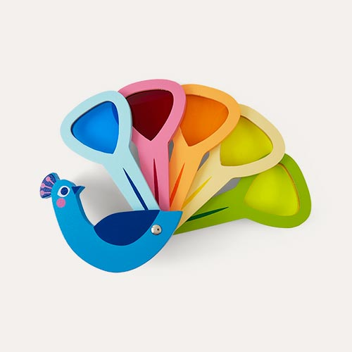 Multi Tender Leaf Toys Peacock Colours