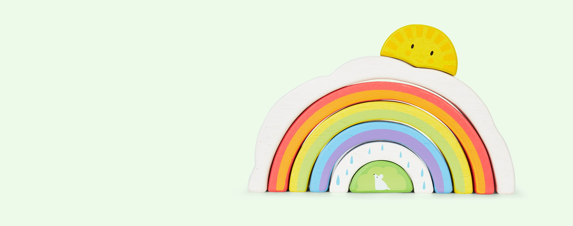 Multi Tender Leaf Toys Rainbow Tunnel