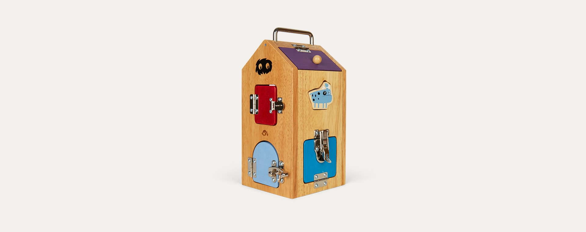 Multi Tender Leaf Toys Monster Lock Box