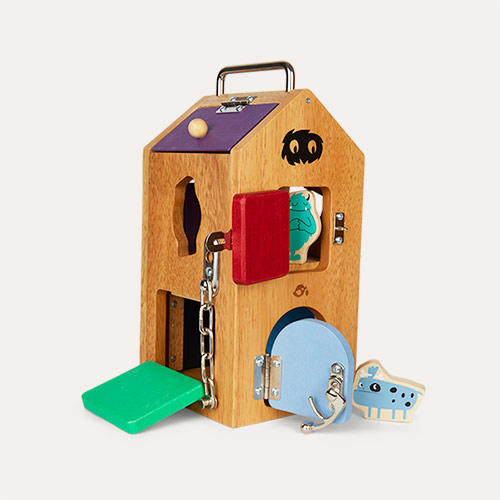 Multi Tender Leaf Toys Monster Lock Box