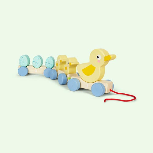 Multi Tender Leaf Toys Pull Along Ducks