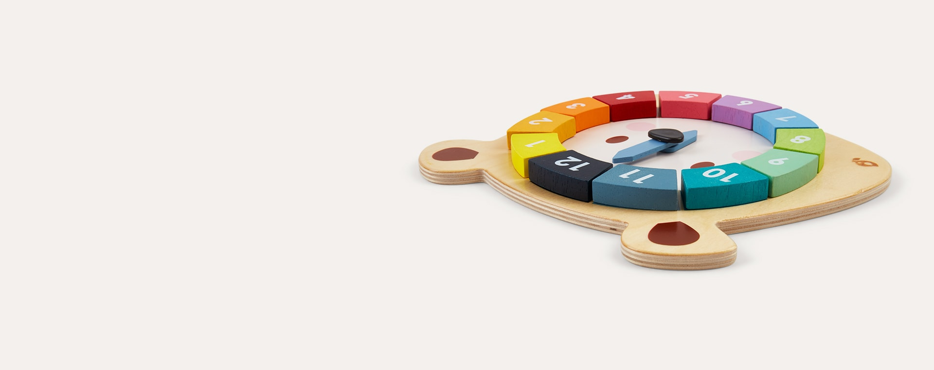 Multi Tender Leaf Toys Bear Colours Clock