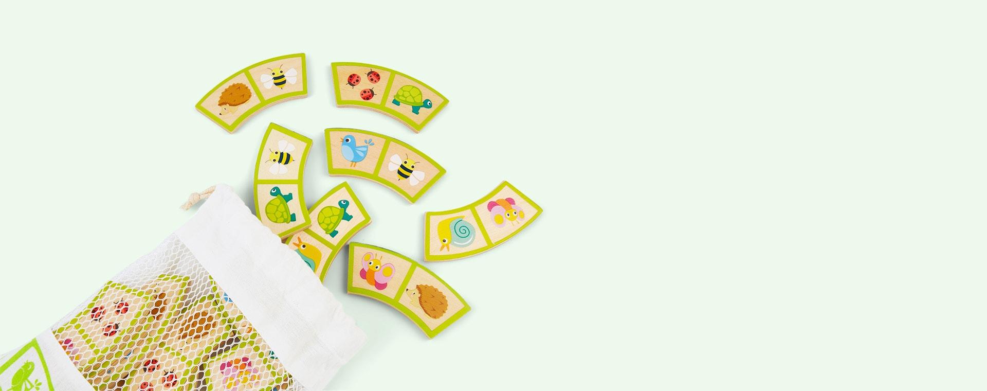 Multi Tender Leaf Toys Garden Path Dominoes