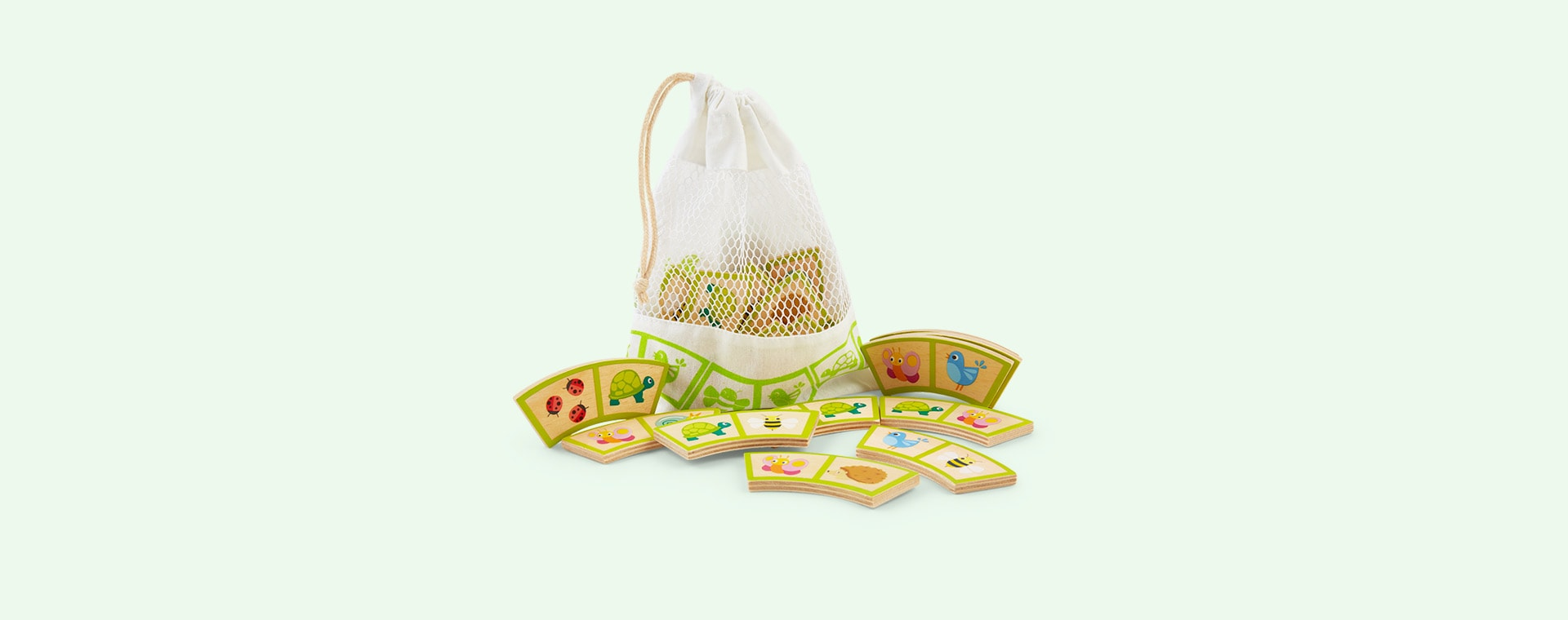 Multi Tender Leaf Toys Garden Path Dominoes