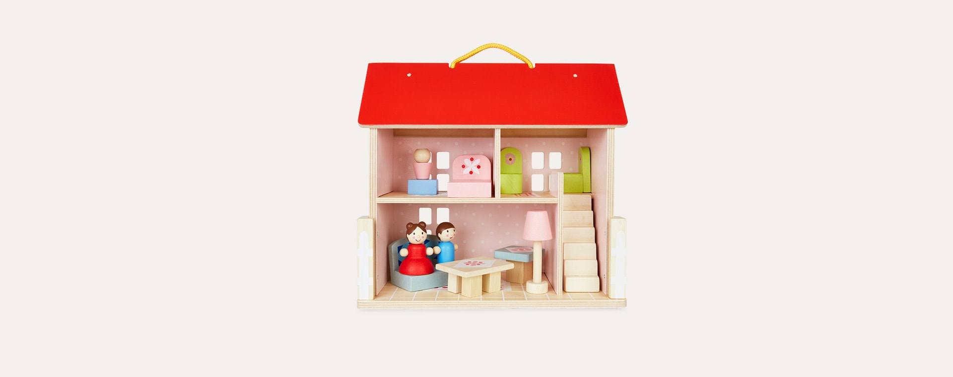 Multi Tender Leaf Toys Dolls House Set