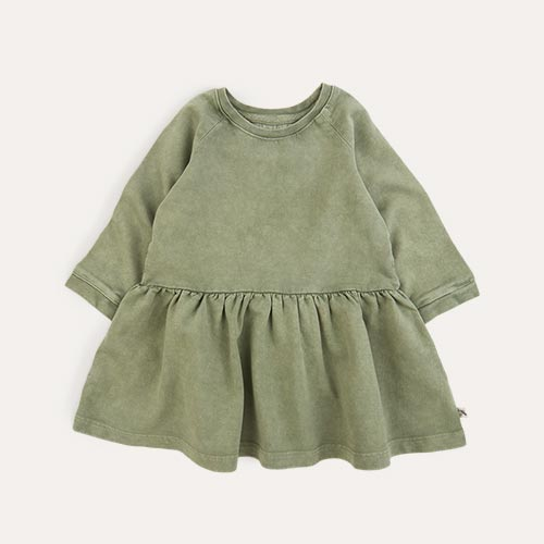 Moss KIDLY Label Washed Dress