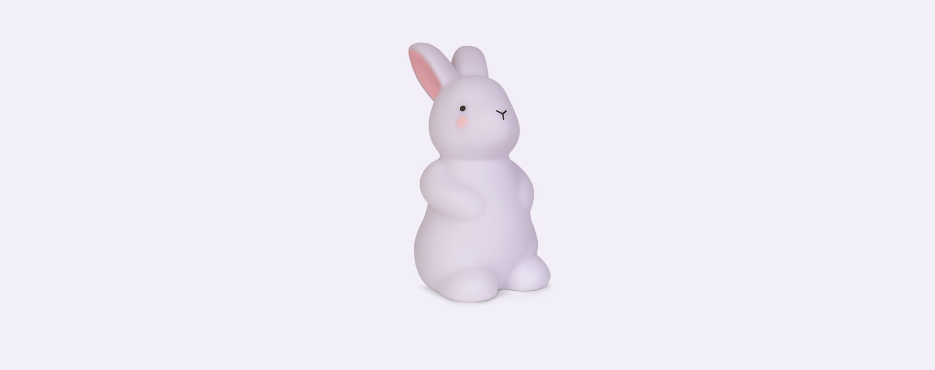 White Lello Teeny and Tiny Bunny Rechargeable Light Small White