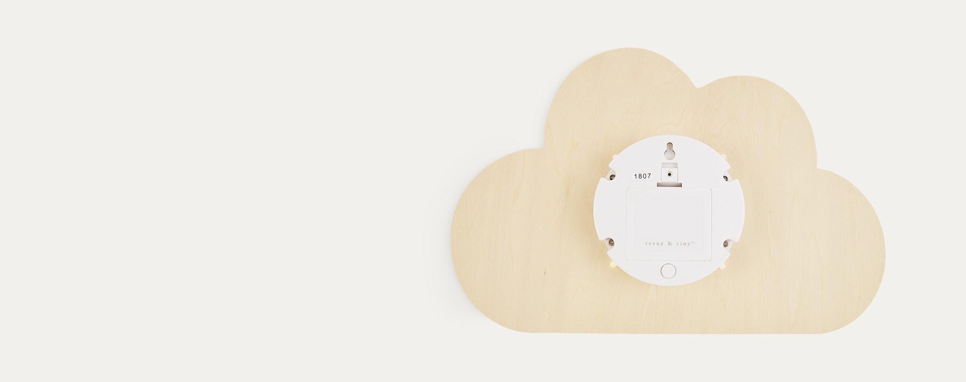 Neutral Lello Silhouette Cloud Tap Night Light