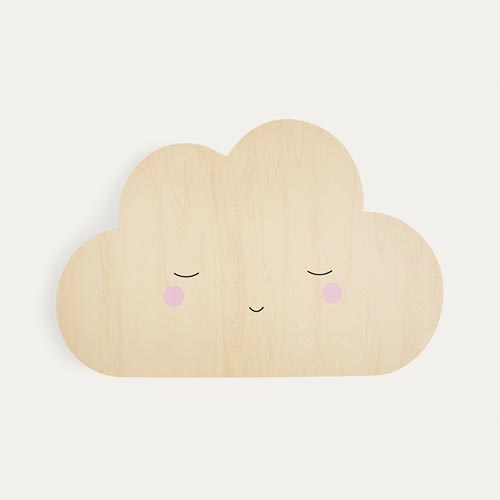 Neutral Lello Silhouette Cloud Tap Night Light