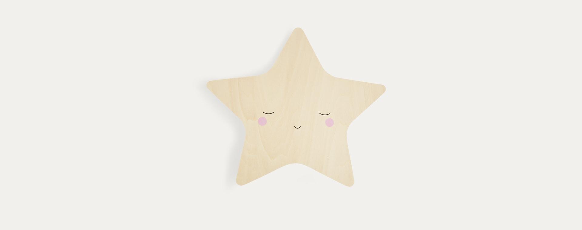 Neutral Lello Silhouette Star Tap Night Light