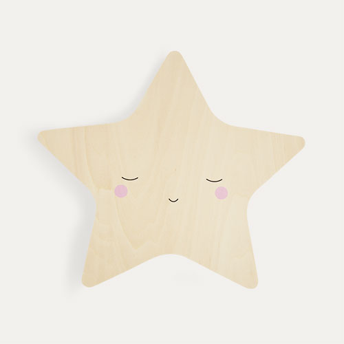 Neutral Lello Silhouette Star Tap Night Light