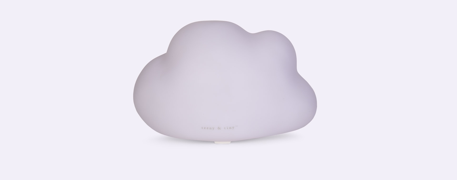White Lello Cloud Medium Tap Light