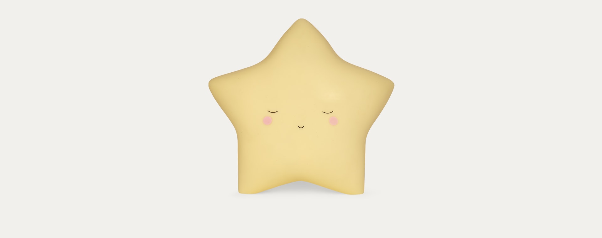Yellow Lello Star Little Wall Tap Light