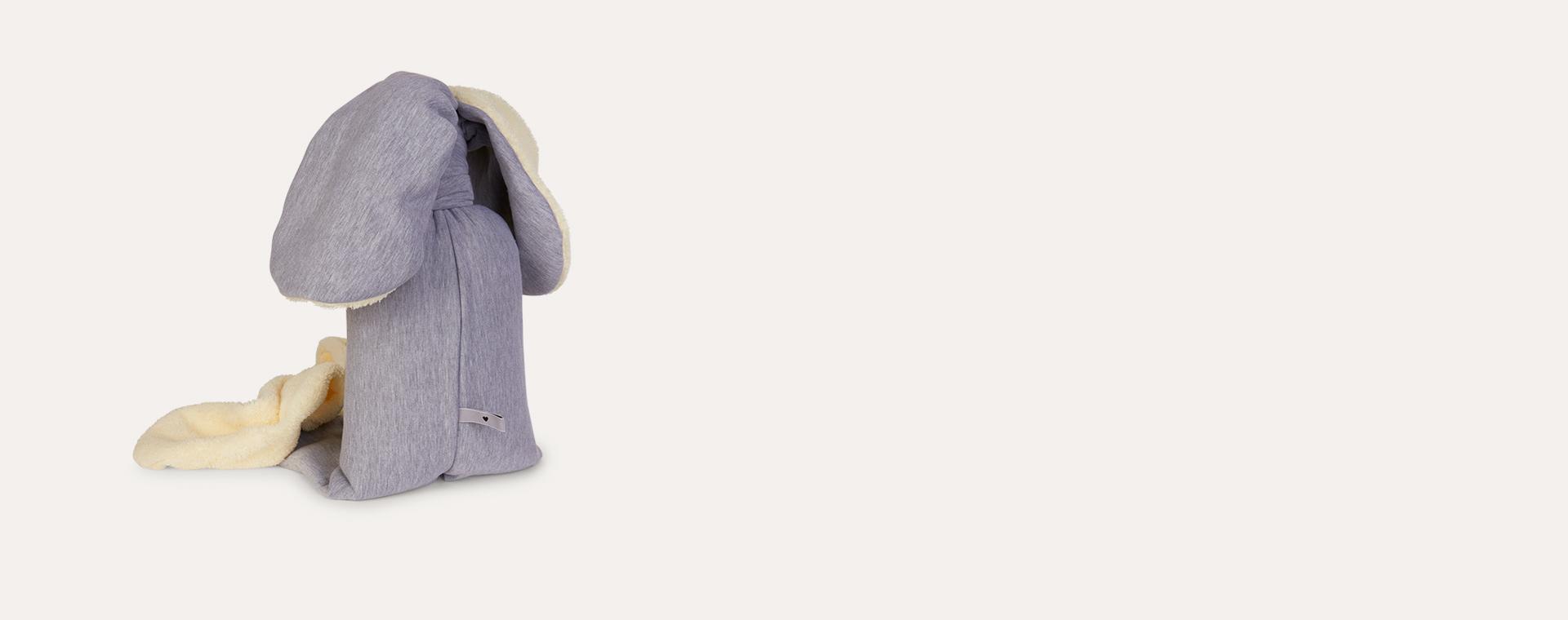 Grey Fluffy nogaravin Rosso Rabbit