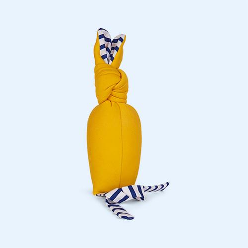 Yellow nogaravin Bunny Rattle