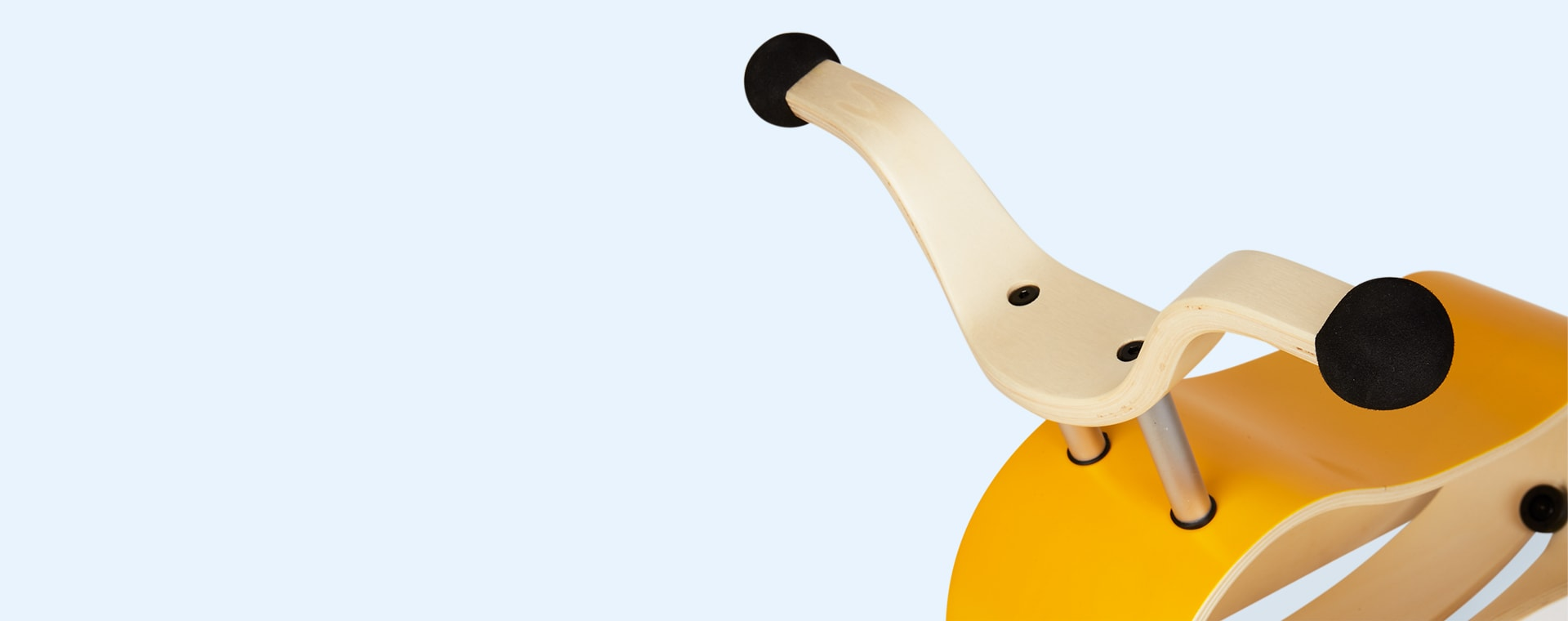 Yellow Aqua White Wishbone Design Studio Mini Flip Ride-On