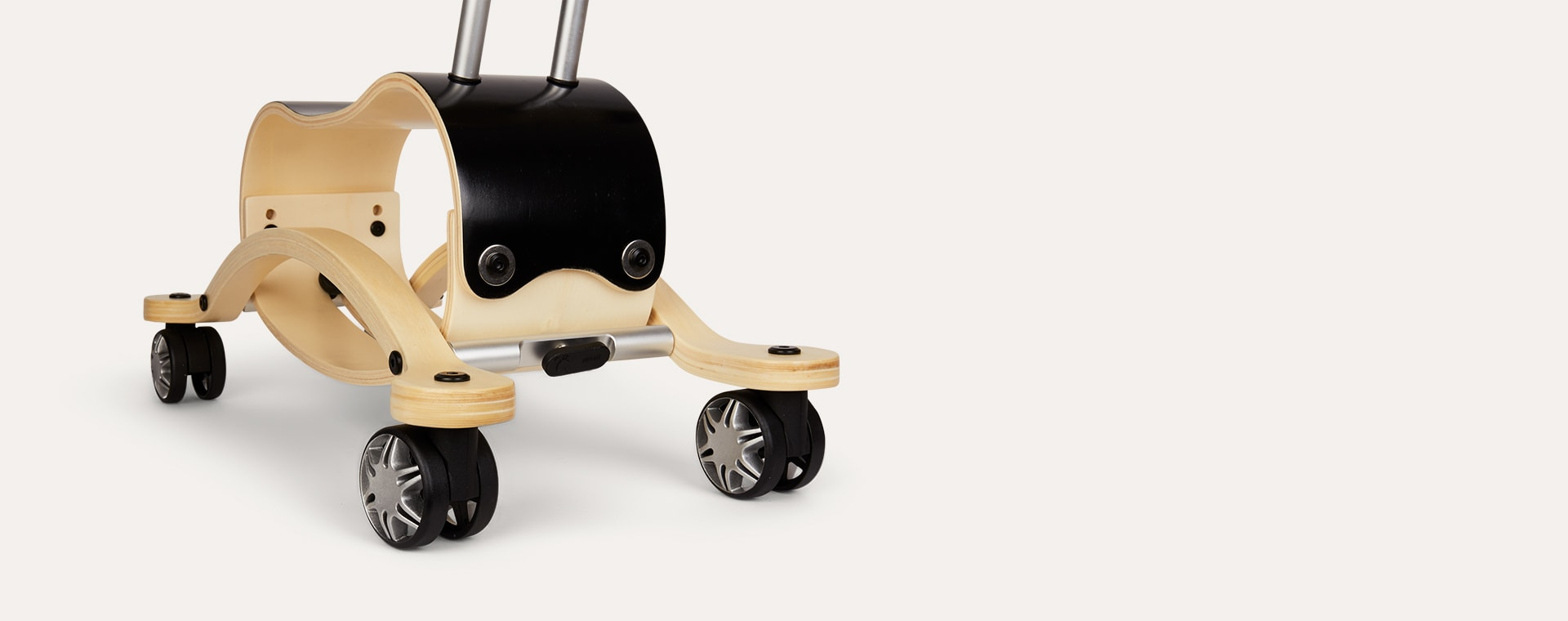 Black Wishbone Design Studio Mini Flip Race Ride-On