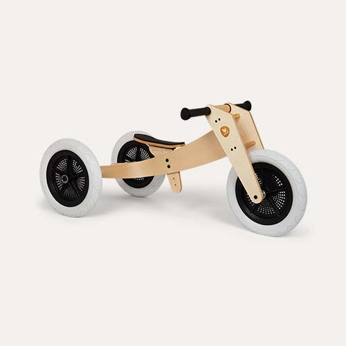 Wooden Wishbone Design Studio 3 in 1 Balance Bike