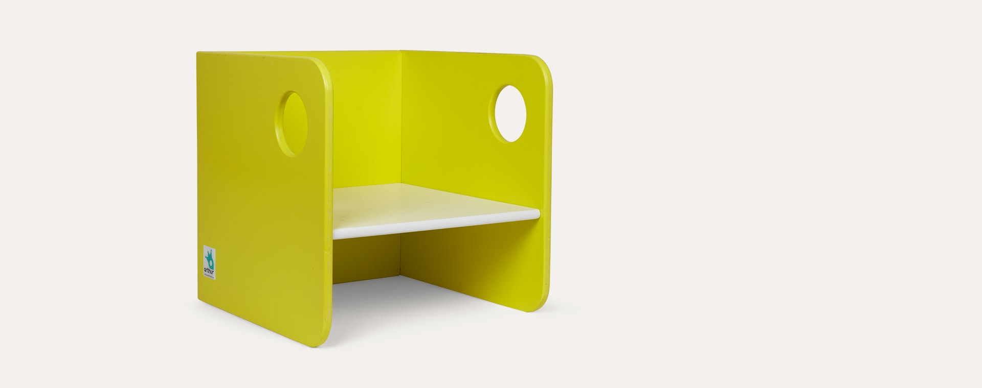 Yellow Arthur and Friends Carlito Chair