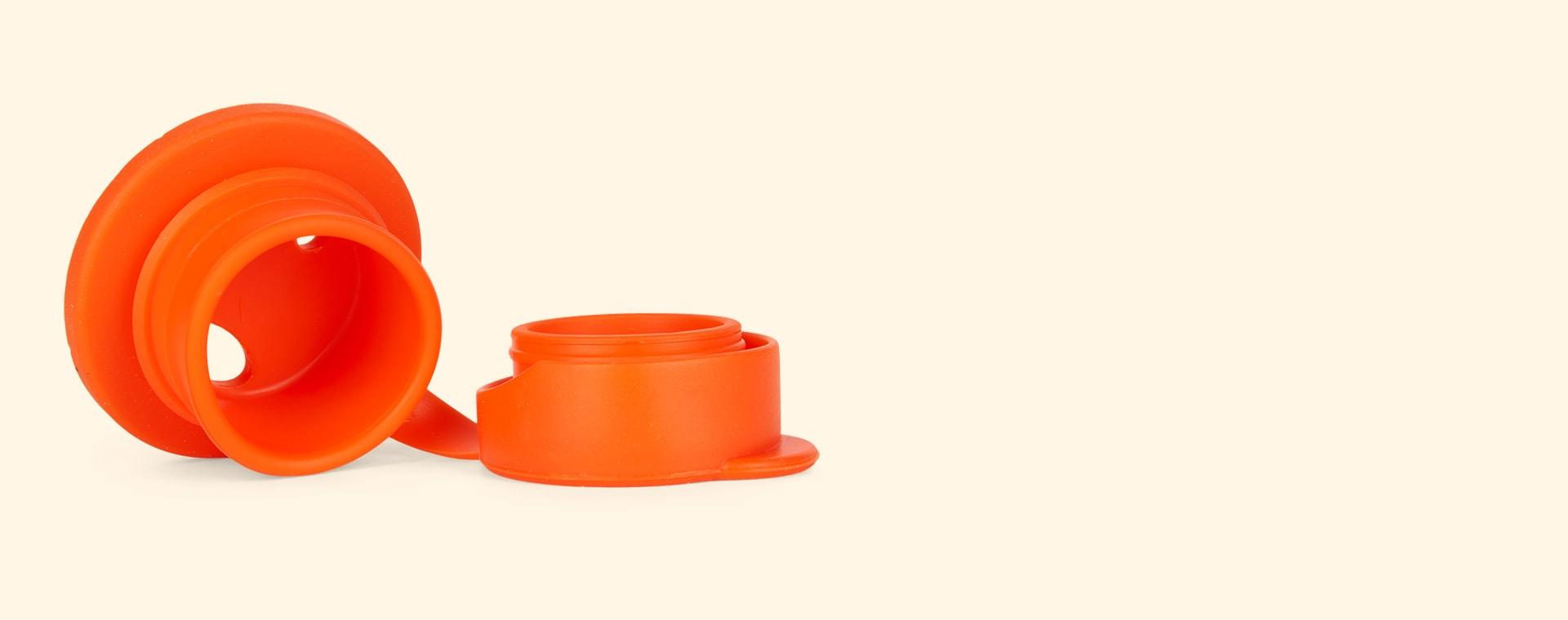 Orange Pura Big Mouth Silicone Sports Top
