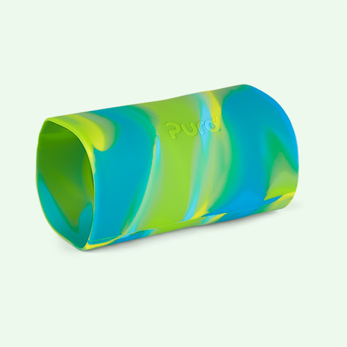 Aqua Swirl Pura Tall Silicone Sleeve