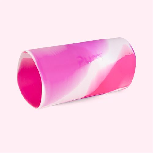 Pink Swirl Pura Tall Silicone Sleeve