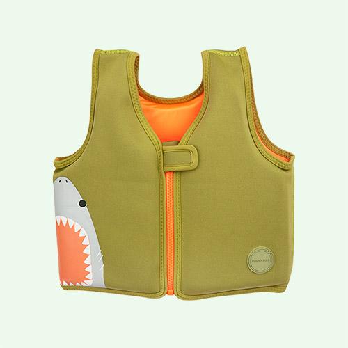Desert Palm - Shark Attack Sunnylife Float Vest