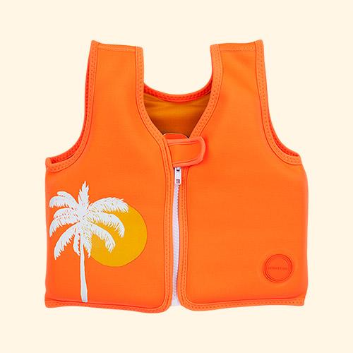 Desert Palm - Neon Sunnylife Float Vest