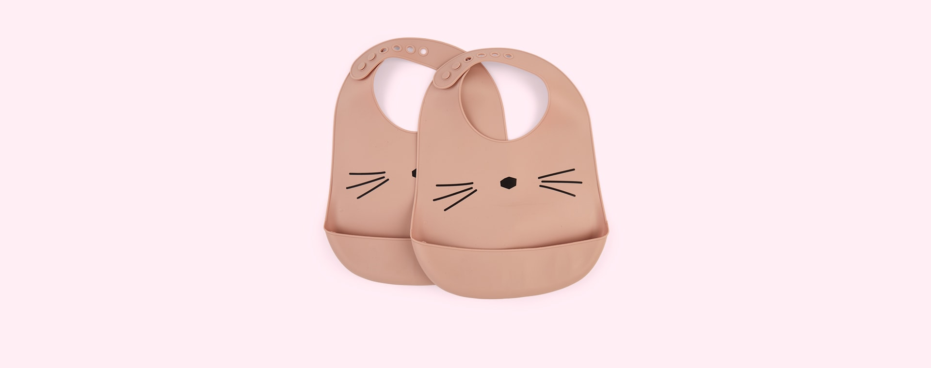 Cat Rose Liewood Tilda Silicone Bib 2 Pack