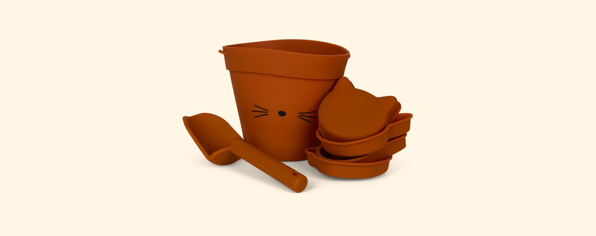 Cat Mustard Liewood Beach Set