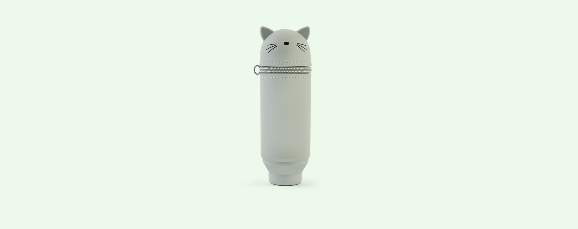 Cat Dusty Mint Liewood Pencil Case