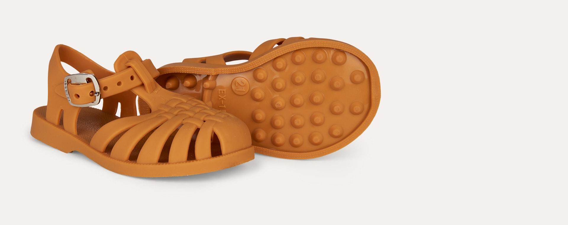 Mustard Liewood Jelly Sandals