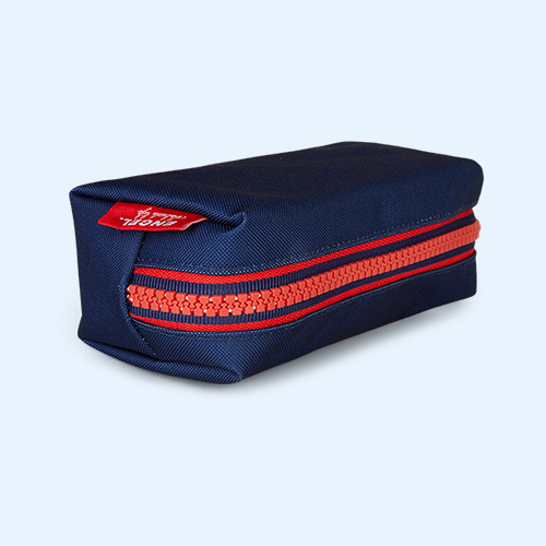 Navy Engel Pencil Case