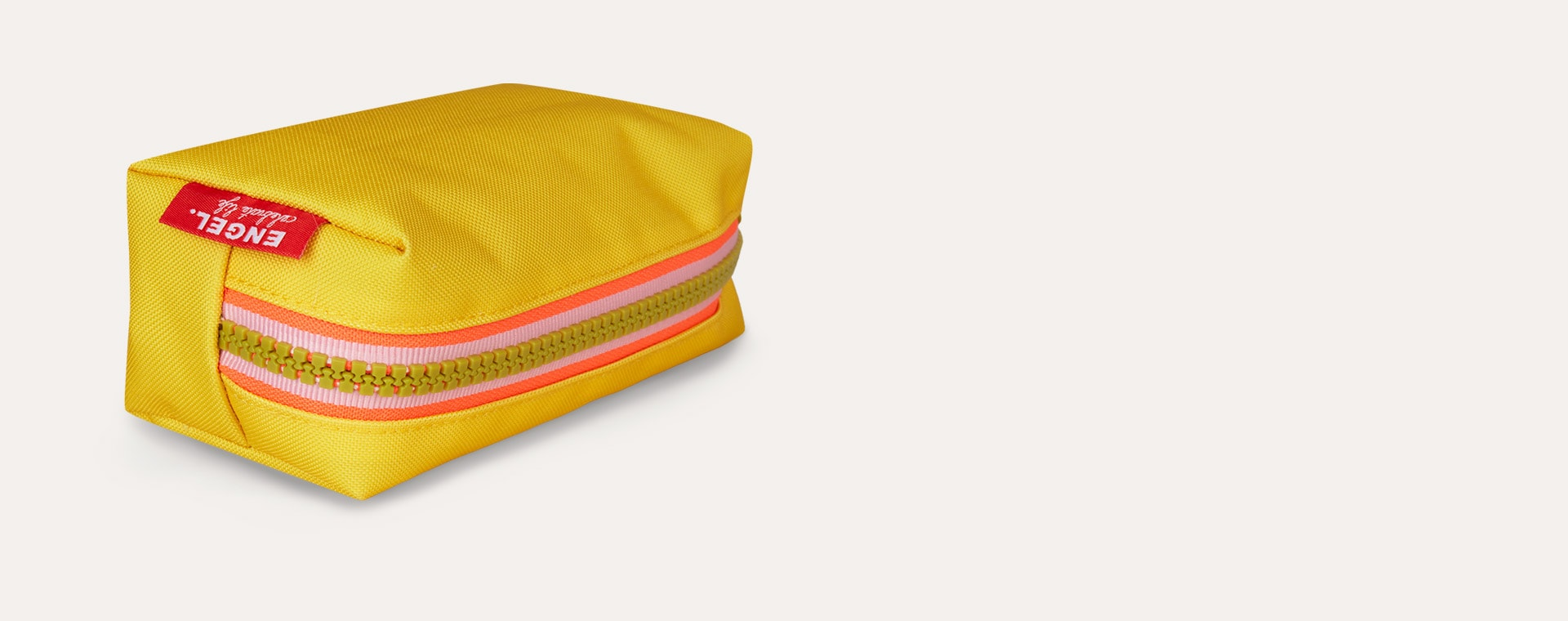 Yellow Engel Pencil Case